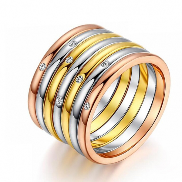 R.A 7 pieces in one ring 115510