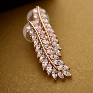 Allencoco zircon earring 208065002