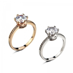 Rigant korean style zircon ring  893005