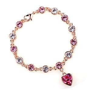 Rigant crystal pendant bracelet  31098