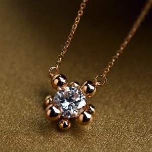 Rigant zircon necklace  620790