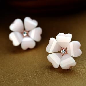 Rigant acrylic flower earring   86709