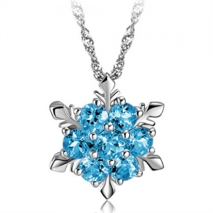 Sapphire 925 sterling silver pendant(exc...
