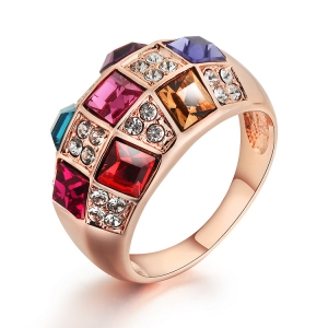 Austrian Crystal Ring 310889