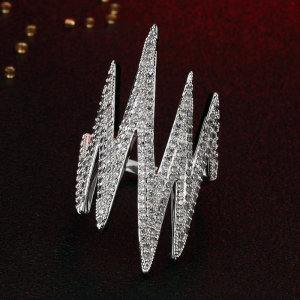 R.A zircon ring 115541