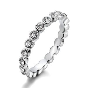 R.A  zircon ring  311425