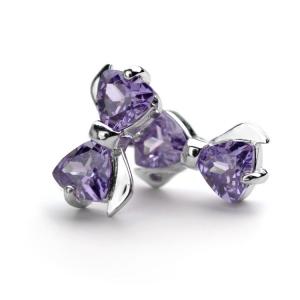 925 silver zircon earring  710855