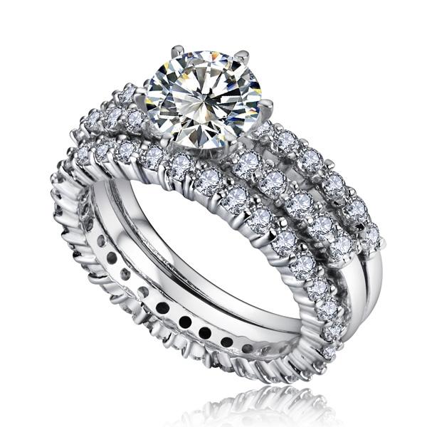 allencoco super sparkle zircon ring 10300102