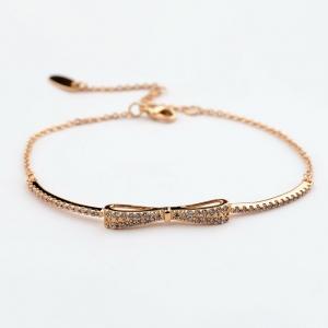 R.A bowknot bracelet  171236