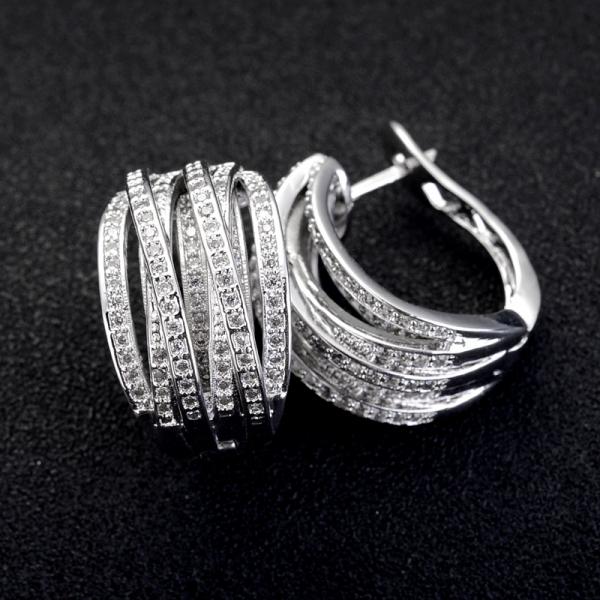Allencoco zircon earring  208105002