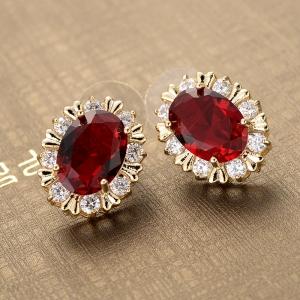 Allencoco zircon earring  208101036
