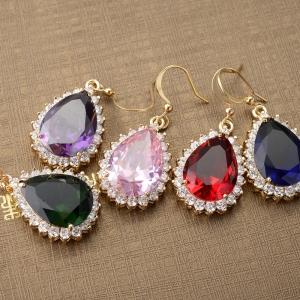 Allencoco zircon earring  208102036