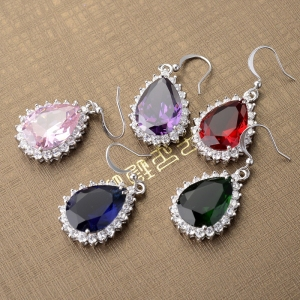 Allencoco zircon earring  208102002