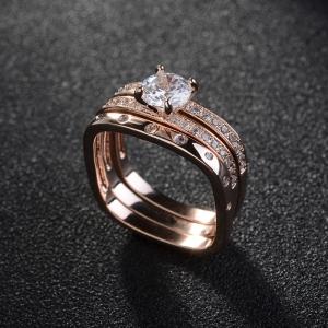 Allencoco zircon ring