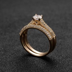 Allencoco zircon ring 10317536