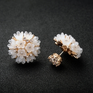 Rigant flower earring 87829
