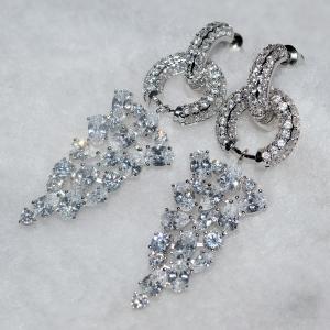 Allencoco zircon earring  208139002