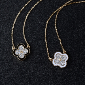 Rigant flower necklace  62095