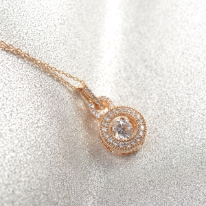 Rigant zircon necklace