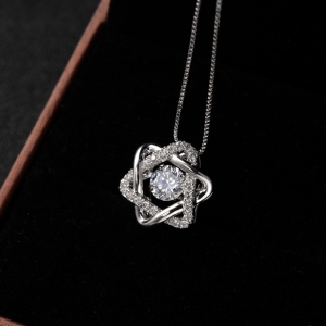 Rigant zircon necklace  77561