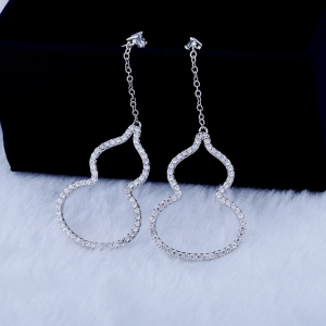 Allencoco zircon earring 208138002