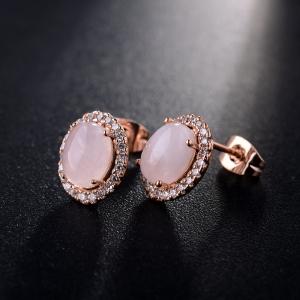 R.A gemstone earring  321566
