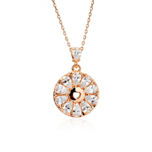 Rigant zircon necklace  77556