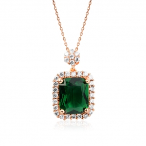 Rigant zircon necklace  44559