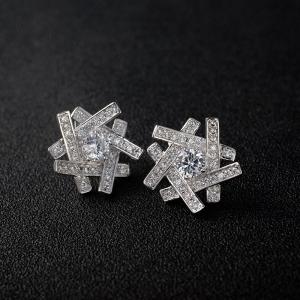 R.A zircon earring  125808