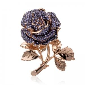 R.A  flower brooch  154253