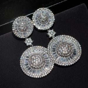 Allencoco zircon earring   20834502
