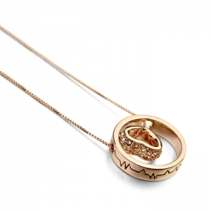 Rigant circle necklace