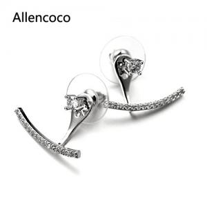 Allencoco  Zirconia Earrings  208122
