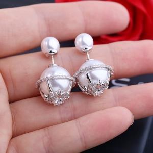 Allencoco pearl earring  208180
