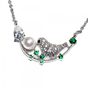 Allencoco bird necklace  3070088