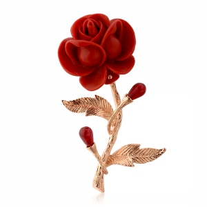 Rigant flower brooch  53744