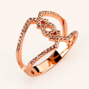 Allencoco zircon ring  10384