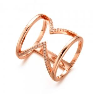 Allencoco zircon ring  10386