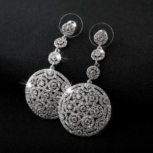 Allencoco zircon earring 208185