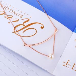 Allencoco pearl necklace 62120
