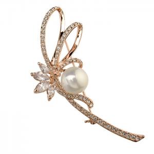 R.A pearl brooch  350609