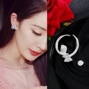 Allencoco new asymmetric earrings  208228002
