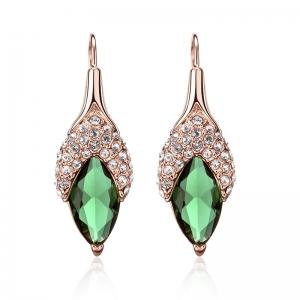 Rigant korean fashion crystal earrings 8...