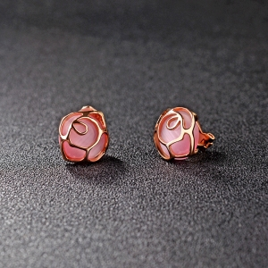 AllenCOCO Fashion flower earrings 321506
