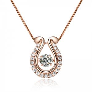 Rigant zircon necklace  62125