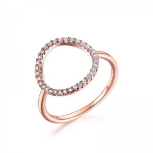AllenCOCO Simple Oval Ring 10321402