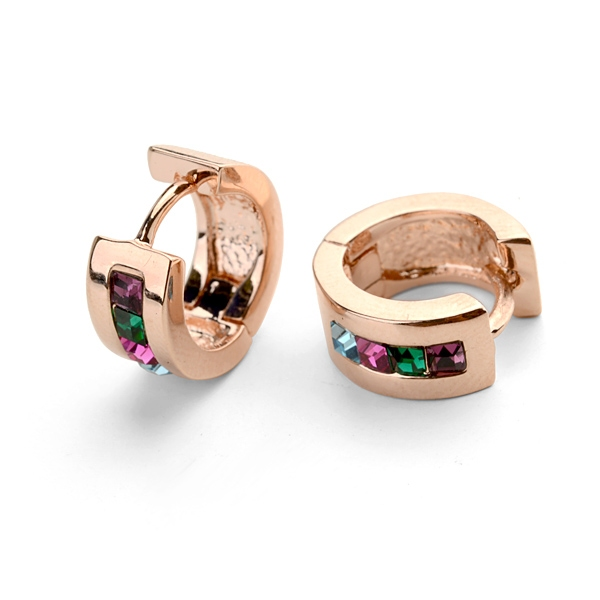 AllenCOCO Fashion Crystal Earrings 814450036