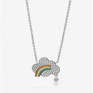 AllenCOCO Weather Rainbow Necklace 30723...
