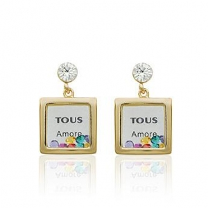 AllenCOCO Crystal Earrings 1253410001