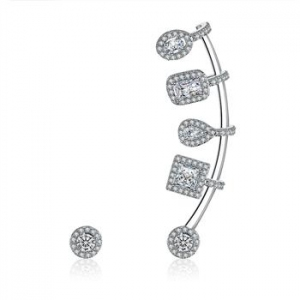 AllenCOCO Fashion Ear Hoop Asymmetrical ...